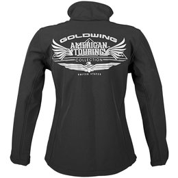 Black Honda Womens Goldwing Touring Collection Softshell Jacket 2013