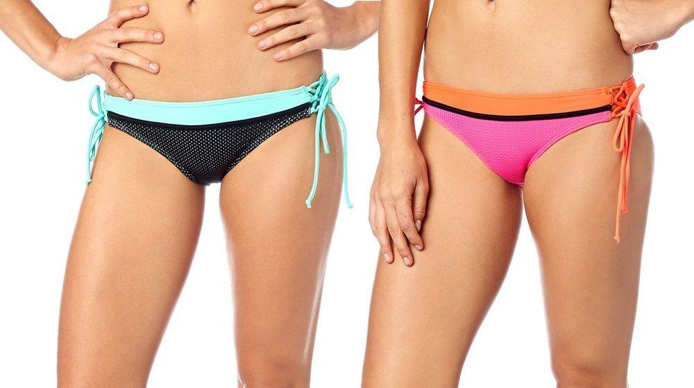 6e7fbe2e0c5 $42.50 Fox Racing Womens Victory Lace Up Side Tie Bikini #263888