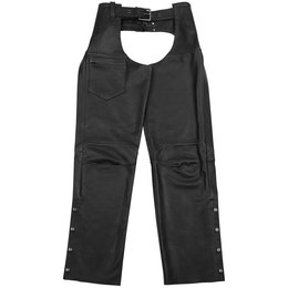 Black Brand Womens Hotness Leather Chaps