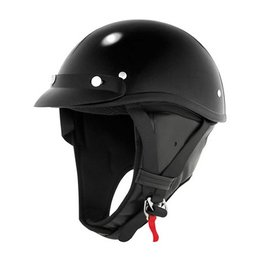 Black Skid Lid Classic Touring Helmet