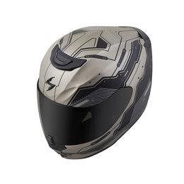 Scorpion EXO-R420 EXOR 420 Techno Full Face Helmet Grey