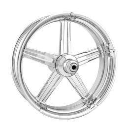 Performance Machine 21x3.5 Formula Front Wheel For Harley Chrome 12027106FRMAJCH Unpainted
