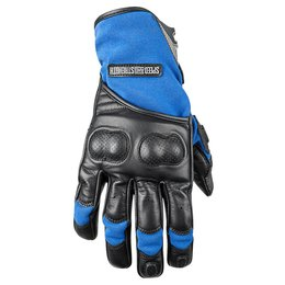 Black, Blue Speed & Strength Mens Tough As Nails 2.0 Lthr Tex Gloves 2015 Black Blue