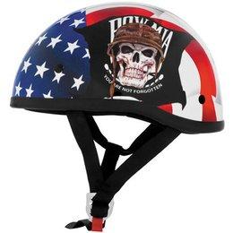 Pow Mia Skid Lid Lethal Threat Original Half Helmet