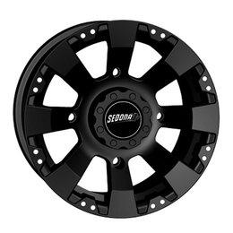 Sedona Spyder Wheel 12x7 4/110 5+2 Black For Honda Kawasaki Suzuki Yamaha