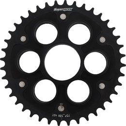 Supersprox Stealth Rear Sprocket 40T Ducati Multistrada Black RST-737530-40-BLK Black