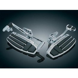 Kuryakyn Floorboard Kit Driver Chrome For Honda GL1800