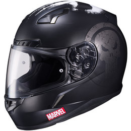 HJC Marvel Punisher Officially Licensed CL-17 CL17 Full Face Helmet Black