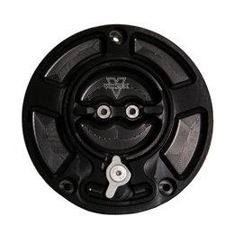 Vortex V3 Fuel Cap With Lock Switch Ducati 848 1098 1198 Black GC110K Black