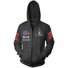 Black Honda Mens Race Team Zip Hoody 2013