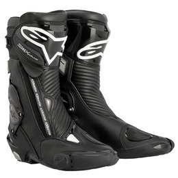 Black Alpinestars S-mx Plus Gore-tex Boots Us 10.5 Eu 45