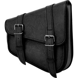 River Road Right Side Classic Swingarm Bag Black Black