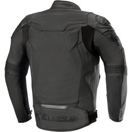 Alpinestars Mens GP Plus R V2 Armored Leather Sport Riding Jacket Black
