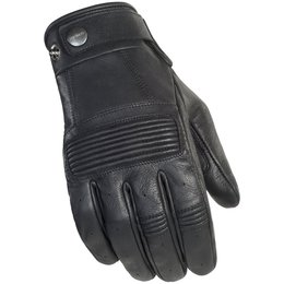 Cortech Mens Duster Leather Gloves Black
