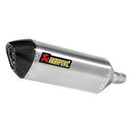 Akrapovic SlipOn Series Exhaust Hexagonal Muffler Titanium For Kawasaki Ninja300