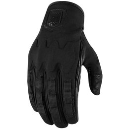 Icon Mens 1000 Collection Forestall Textile Gloves Black
