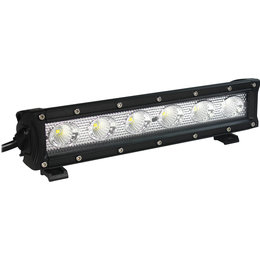 Open Trail 10.5 Inch Single Row LED ATV Light Bar With 5W Bulbs HML-B1030 FLOOD Unpainted