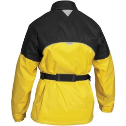 Black, Yellow Firstgear Rainman Waterproof Rain Jacket 2013 Black Yellow