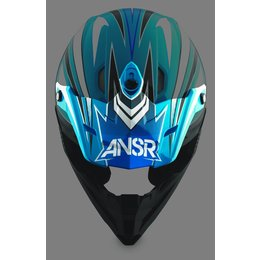 Blue Answer Replacement Visor For Drift Helmet