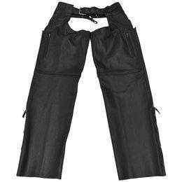 Black Brand Mens Moto Leather Chaps