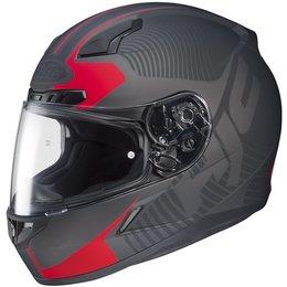 Flat Black, Red Hjc Mens Cl-17 Mission Full Face Helmet 2013 Flat Black Red