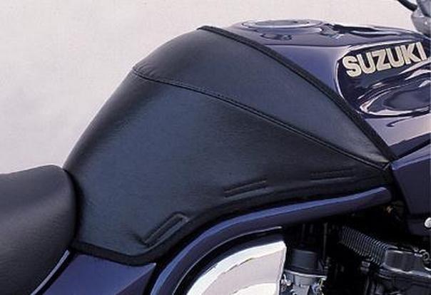 Off Road Motorcycle Helmets >> $48.95 Targa 1/2 Tank Cover Black For Suzuki Bandit 600 #186280