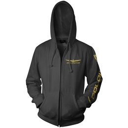 Black Honda Mens Goldwing Zip Hoody 2013