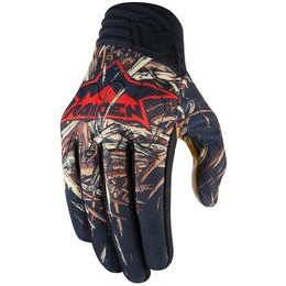 Icon Mens Raiden Deadfall Mesh Gloves Black