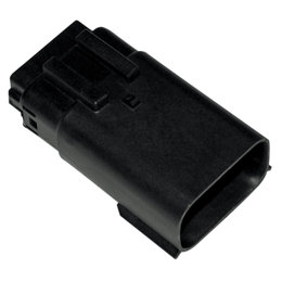 Namz Molex MX-150 12-Position Male Connector Black For Harley-Davidson 2007-2014