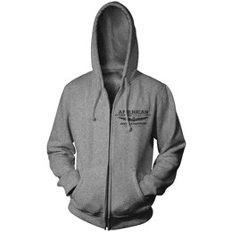 Heather Grey Honda Mens Goldwing Touring Collection Zip Hoody 2013