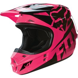Fox Racing Womens V1 Race DOT Helmet Pink