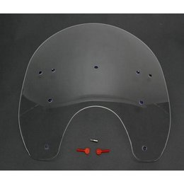 Memphis Shades 17 Windshield Clear For Harley Davidson FXWG FXST FXDWG