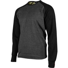 Speed & Strength Mens Soul Shaker Pullover Crew Neck Moto Shirt Black