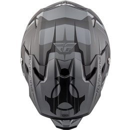 Fly Racing Toxin Graphic MX Helmet Black
