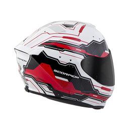 Scorpion EXO-R420 EXOR 420 Techno Full Face Helmet White