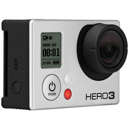 GoPro Hero3 Black Edition Wearable/Mountable Camera Silver Black CHDMX-301
