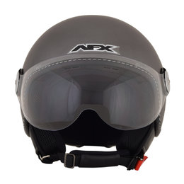 AFX FX-33 FX33 Open Face Scooter Helmet Grey