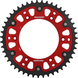 Supersprox Stealth Rear Sprocket 47T Beta RR RR-S RS Red RST-8000-47-RED Red