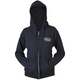 Navy Honda Womens Goldwing Touring Collection Zip Hoody 2013