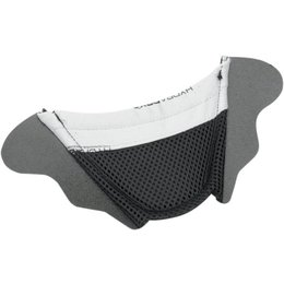 Black Icon Replacement Chin Curtain For Variant Dual Sport Helmet