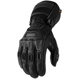 Icon Mens Raiden Alcan Cold Weather Textile Gloves Black