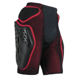 Black, Red Alpinestars Bionic Free Ride Shorts Black