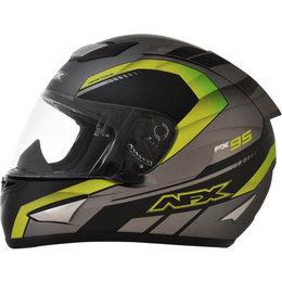 AFX FX95 Mens Airstrike Frost Helmet Green