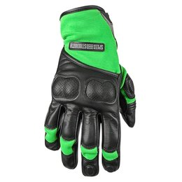 Black, Green Speed & Strength Mens Tough As Nails 2.0 Lthr Tex Gloves 2015 Black Green