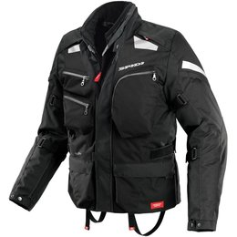 Spidi Sport Mens Voyager 3 H2Out Armored Textile Jacket Black