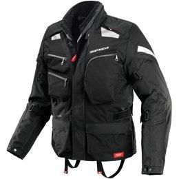 Spidi Sport Mens Voyager 3 H2Out Armored Textile Jacket Black
