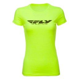 Fly Racing Womens Corporate T-Shirt Yellow