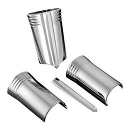 Chrome Kuryakyn Upper Fork Slider Covers For Harley Davidson Flht Flhx 96-10