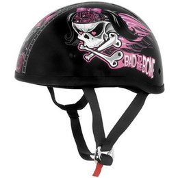 Bad To The Bone Skid Lid Original Half Helmet