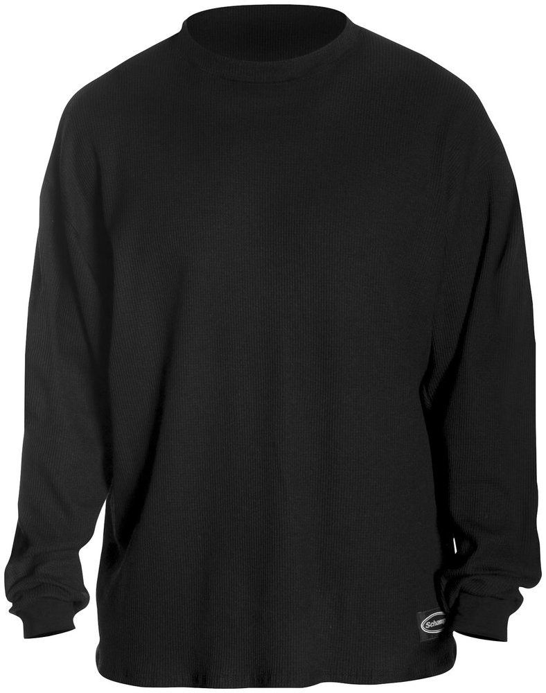 $39.09 Schampa Mens Fleece Lined Long Sleeve Thermal #196200